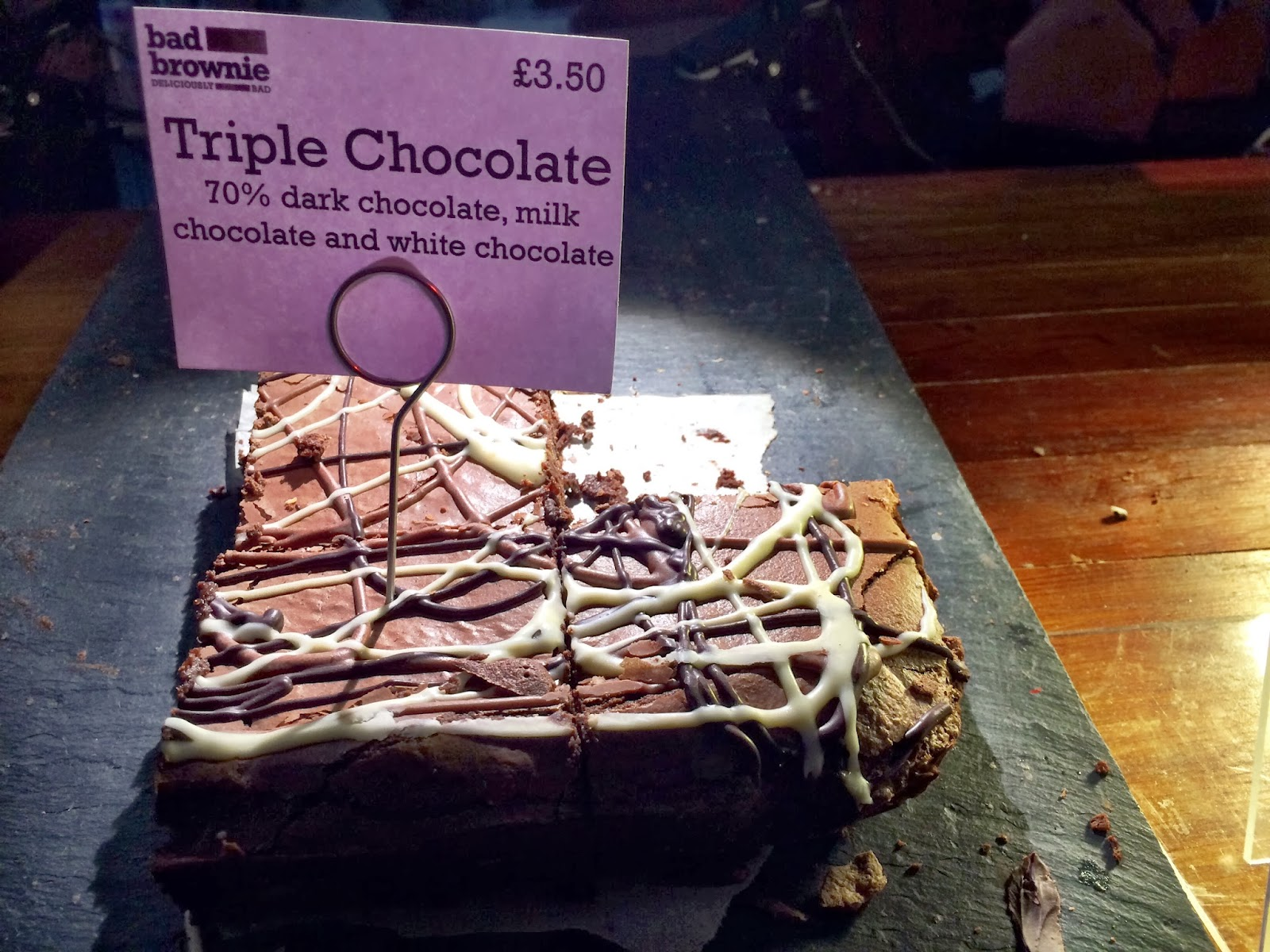 Triple Chocolate - Bad Brownie - Hawker House
