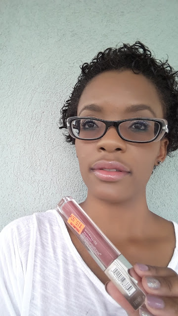 Maybelline Color Sensational High Shine Lip Gloss 'Mirrored Mauve' swatch www.modenmakeup.com