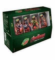 Buy Mountain Dew Avengers Combo Pack, 4x250ml at Rs.150 : Buy To Earn