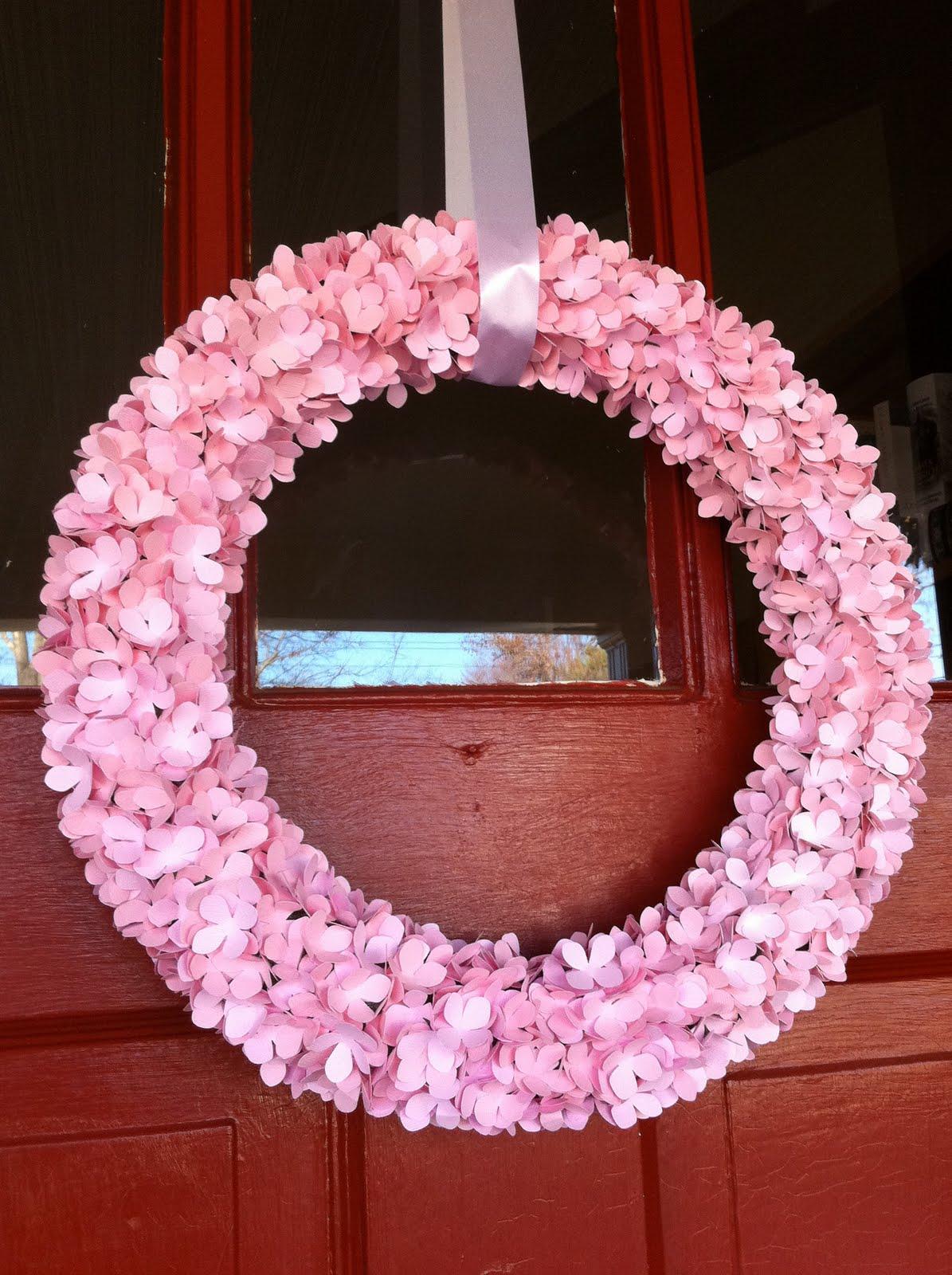 Copy craft hydrangea wreath for Craft wreaths for sale