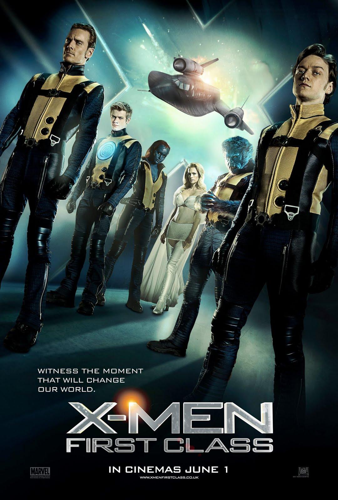 X Men First Class 2 Poster The Gallifreyan...