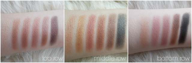 makeup revolution what you waiting for eyeshadow palette review swatches shimmer matte pink toned neutrals