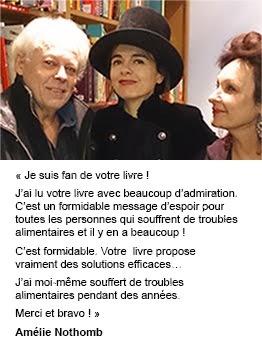 L'avis d'Amélie Nothomb sur le livre