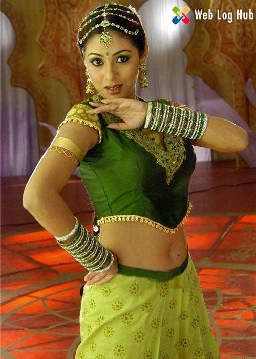 Beautiful Actress Sada  Hot Navel in a Traditional Dress - Web Log Hub