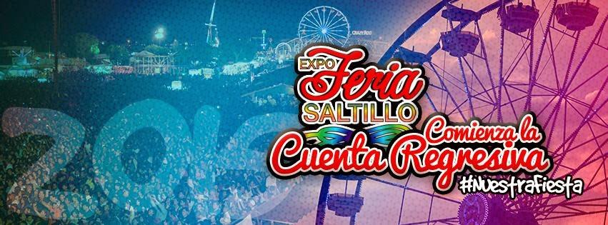 Expo Feria Saltillo 2015 artistas