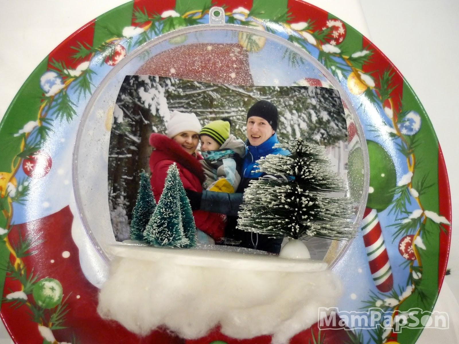Как сделать новогодний шар с фотографией внутри фото 208