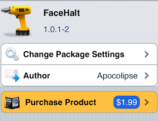 facehalt tweak cydia jailbreak smart pause