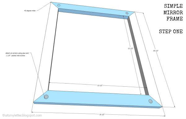 Simple Mirror Frame - Jaime Costiglio