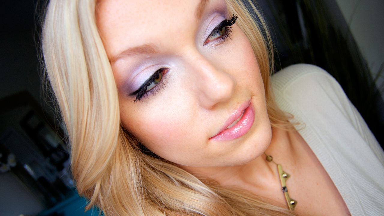 Makeup Alli Soft Pastel Purple Tutorial