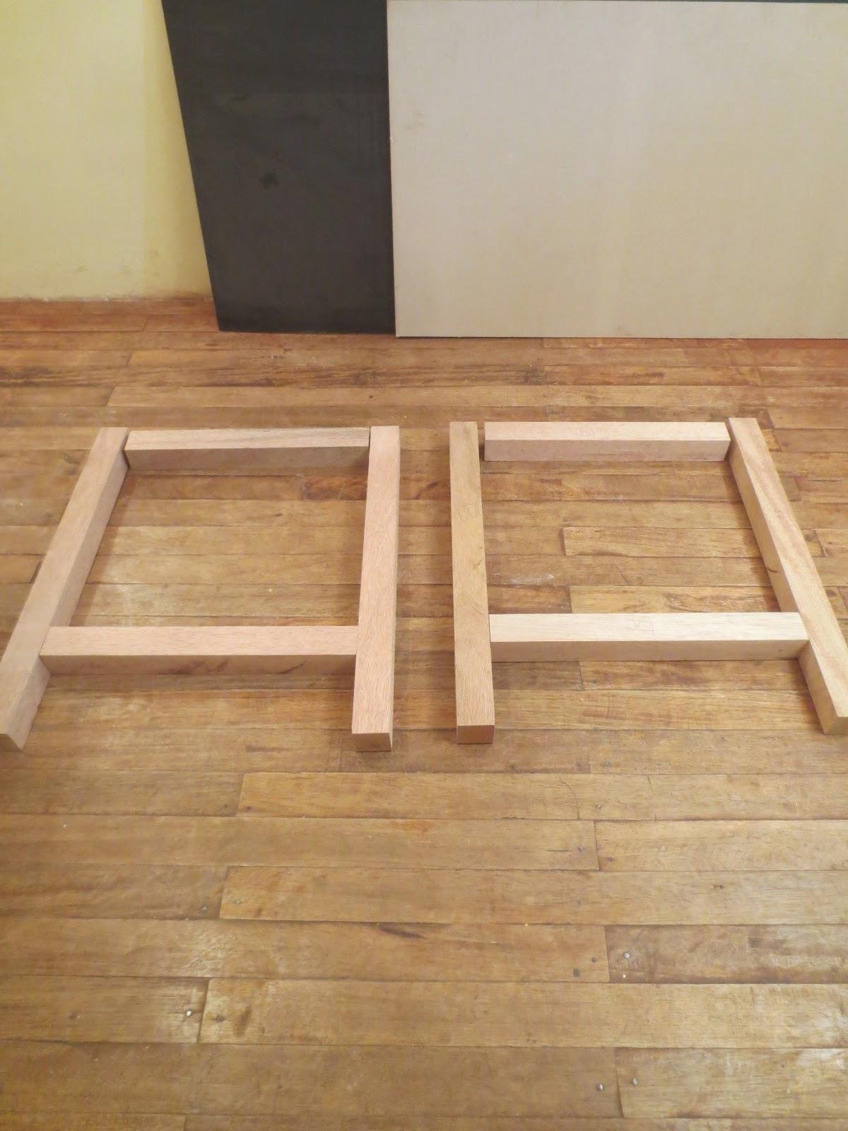 Decoraciones manualidades en madera como hacer una mesa - Como hacer patas de madera para mesas ...