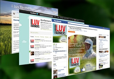 The online community has been abuzz with the iluvfarmers farmers campaign that champions hero farmers in Cebu