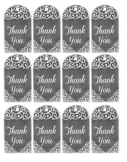 Free Thank You Tags