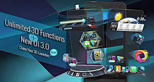 Next Launcher 3D Shell v3.21 APK Android