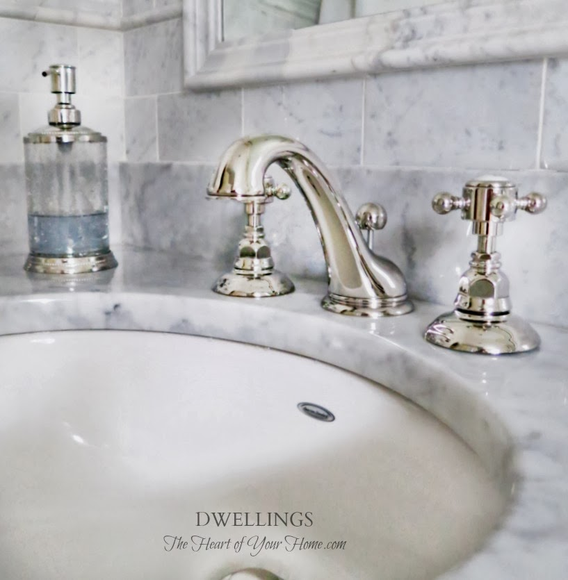 But when family moves in for a few months  things change a bit. GUEST BATH   ROHL  amp  FLITZ   DWELLINGS The Heart of Your Home