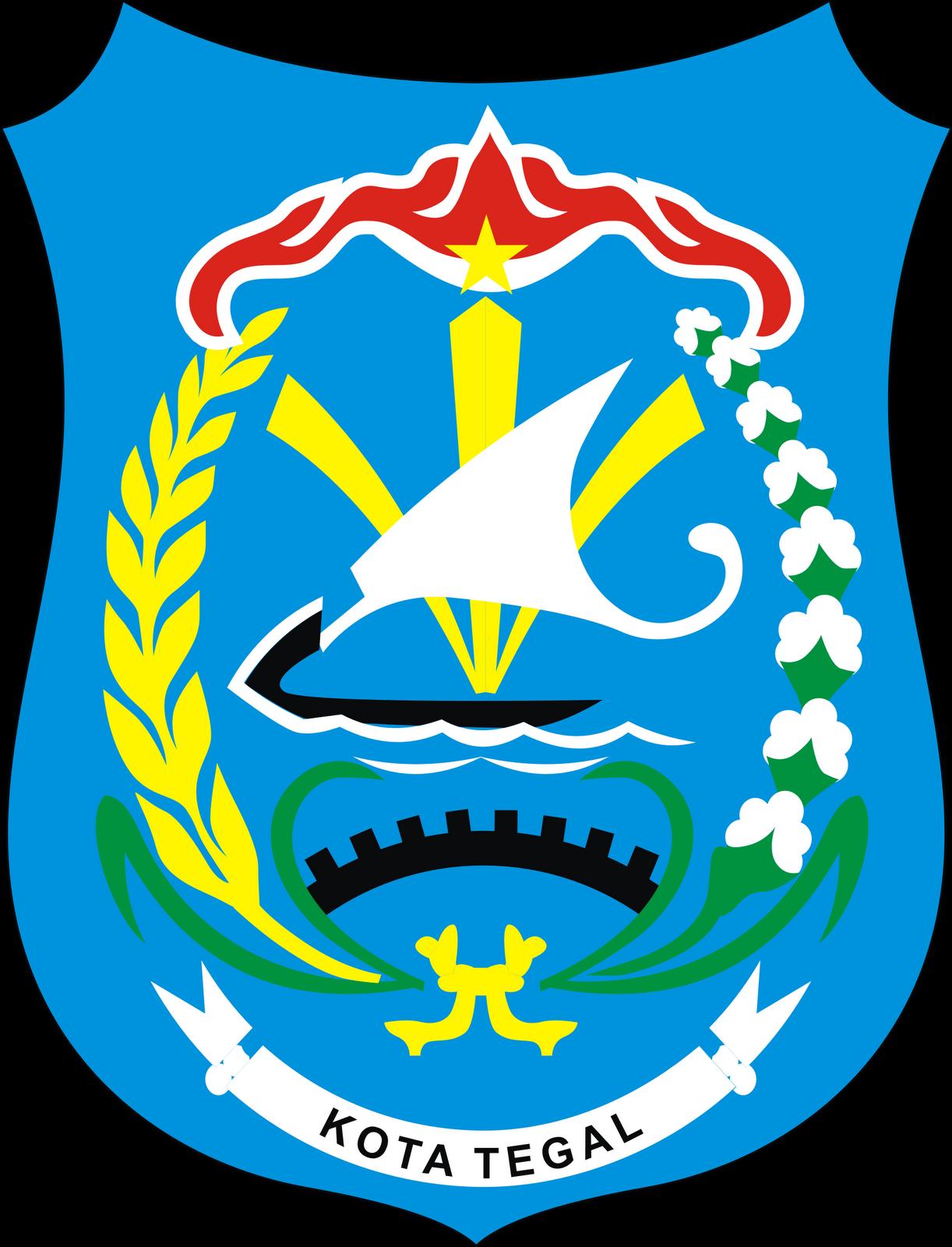 logo kota tegal provinsi jawa tengah logo lambang