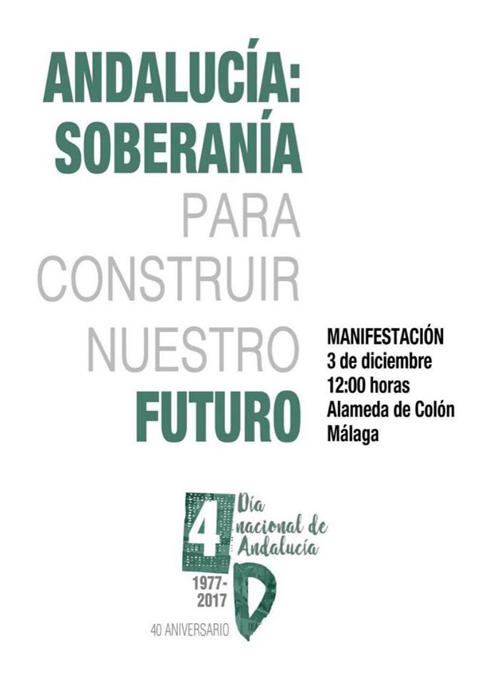 MANIFESTACIÓN   3 DE DICIEMBRE   EN   MÁLAGA.