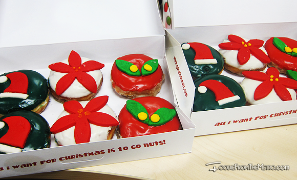 Foodie from the Metro - GoNuts Donuts Christmas Boxes