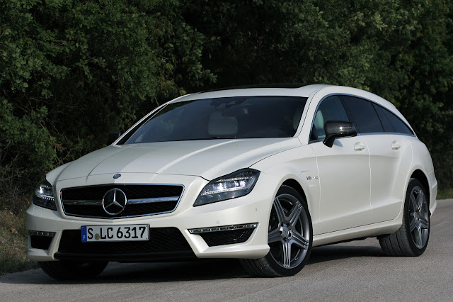 new Mercedes Cls 63 Amg Shooting Brake 2013
