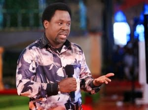 PROPHET T.B JOSHUA: WE NEED SOMETHING MORE THAN MONEY
