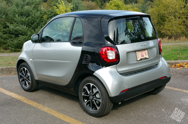 2016 Smart Fortwo rear
