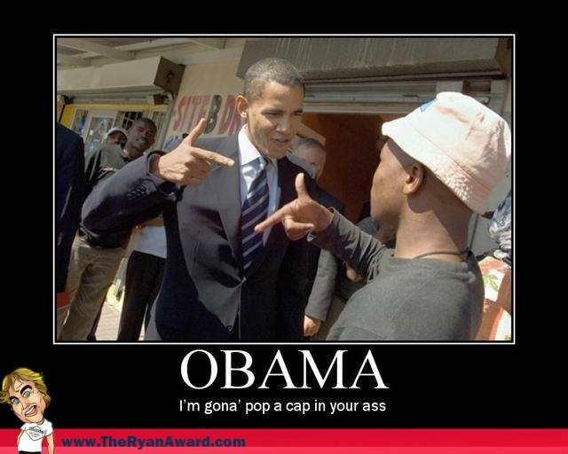 Funny Obama Poster