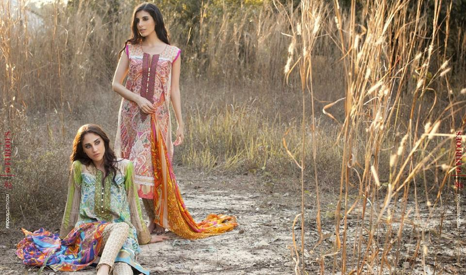 Firdous summer casual dresses