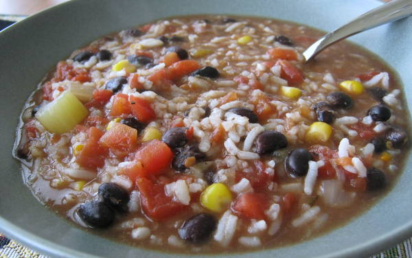 If it's cold where you live and you're sick and tired of it, consider fixing soup for supper. We love this upcycled gumbo soup recipe.