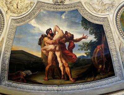 фото античных статуэток живописи про геев