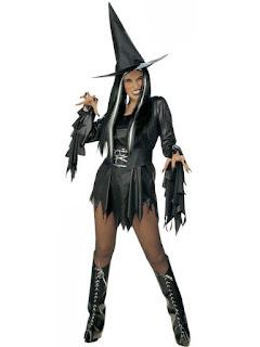 Halloween Kostume Ond Hekse Kostume