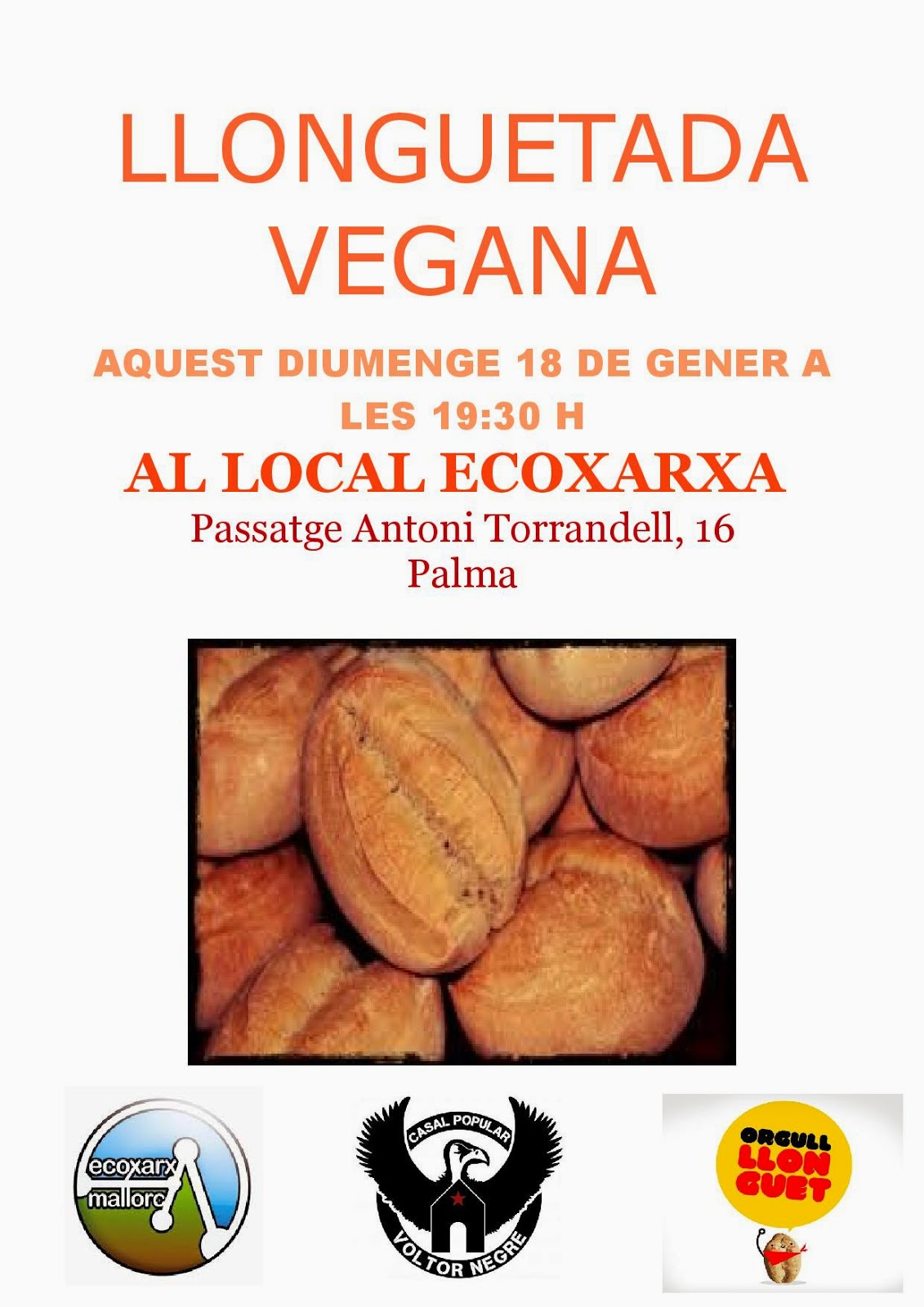 Llonguetada vegana (18-01-15)