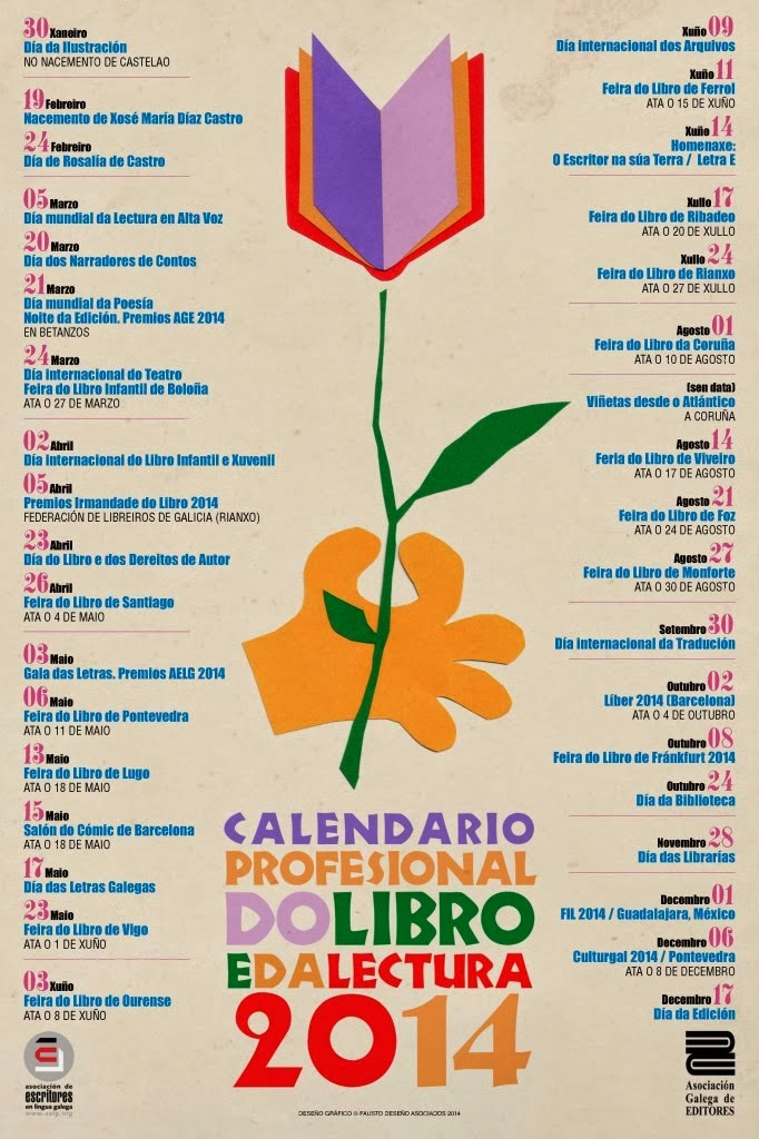 CALENDARIO DO LIBRO E DA LECTURA 2014.