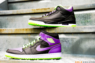 SOLE AWESOME  Air Jordan 1   3 -