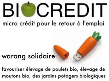 Warang BioCrédit Caisse