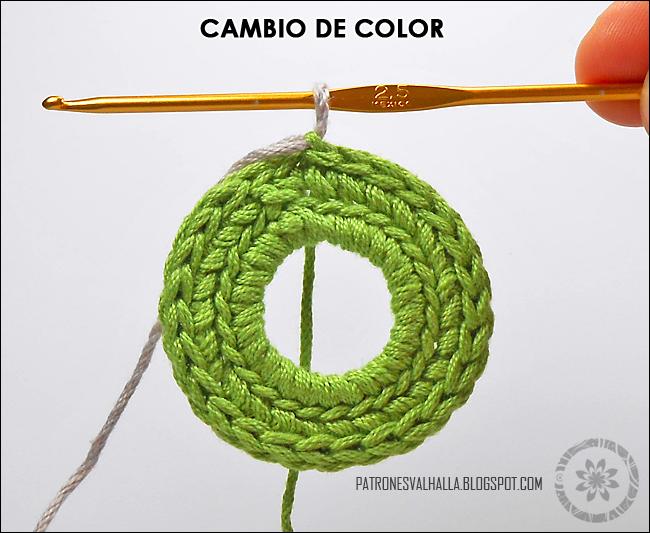 Esfera Navideña a Crochet #2 (foto-tutorial) - PATRONES VALHALLA ...