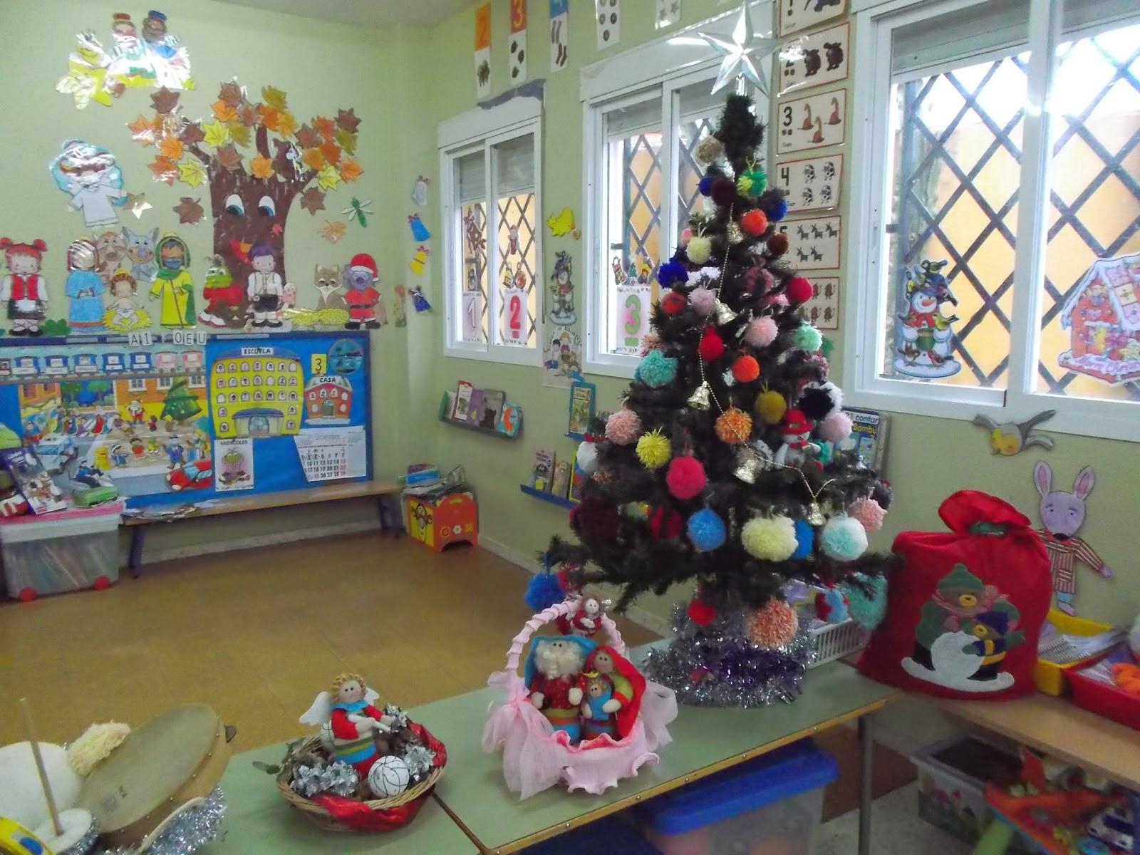 Adorno de salon de clases decoracion de salones estupendo for Decoracion de salon navideno