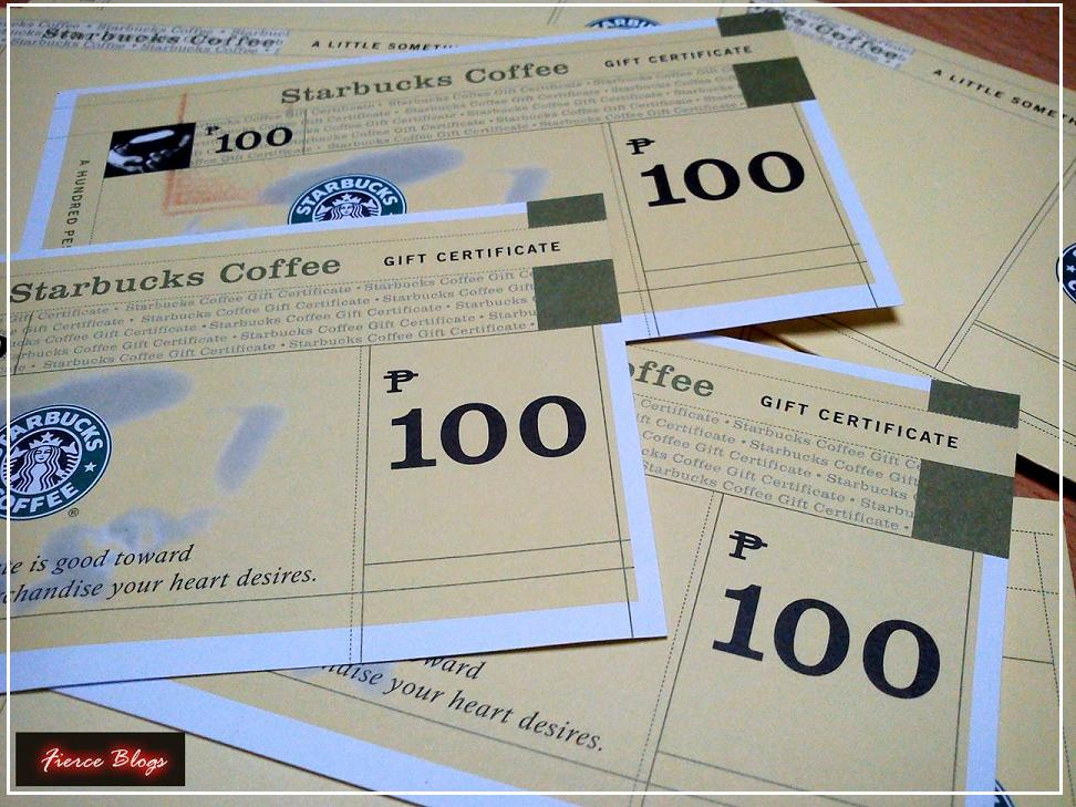 how to buy starbucks gift certificate philippines