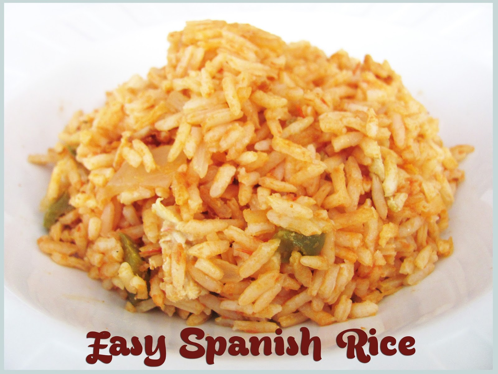 Feeding My Giant: Easy Spanish Rice