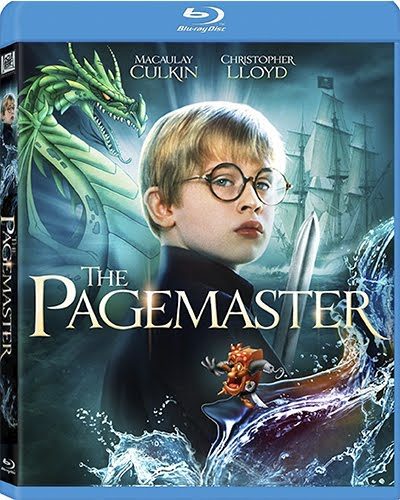 The Pagemaster (1994) 1080p BDRip HEVC Dual Audio Latino - Inglés [Subt.Esp] ( Cine familiar. Literatura )