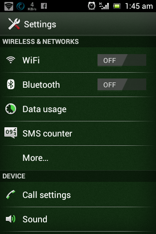 WiFi Hotspot/Tethering on Android Phone setup process