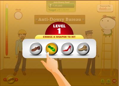 shaadi.com angry brides game