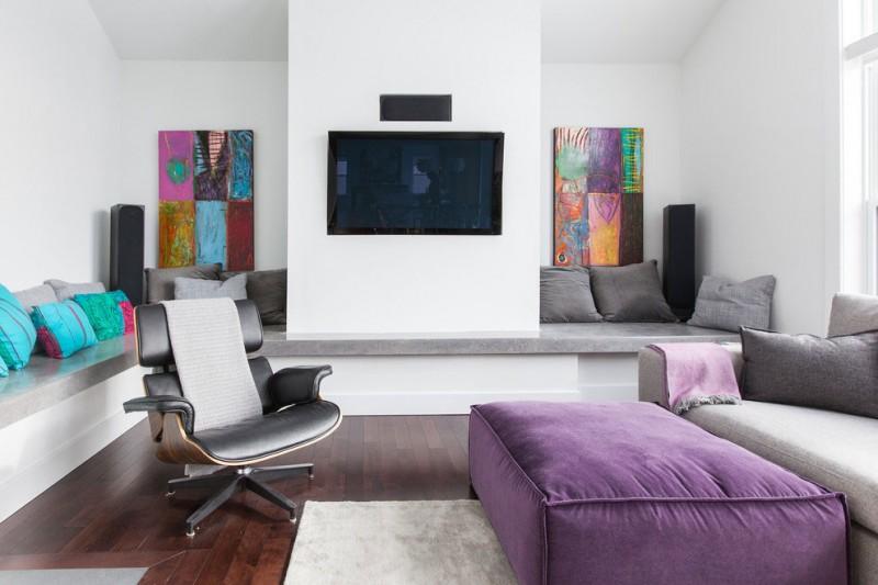 Salas Decoraciones Modernas ~ Bastante linda esta sala de estar, los muebles hacen que sea un lugar