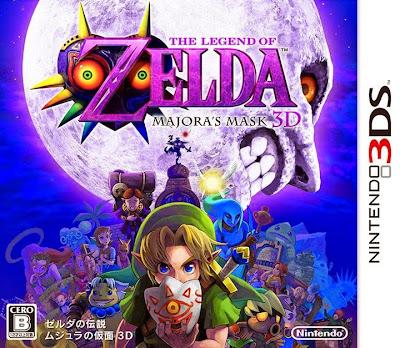 [GAMES] ゼルダの伝説 ムジュラの仮面 3D / Zelda no Densetsu Majora no Kamen 3D (3DS)