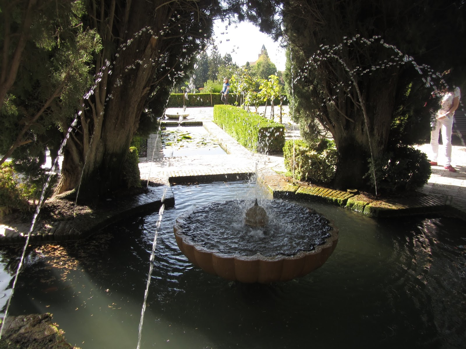 Fuente Jardines Bajos del Generalife