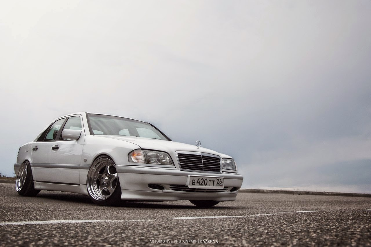 Mercedes benz w202 stance style benztuning for Mercedes benz c class w202