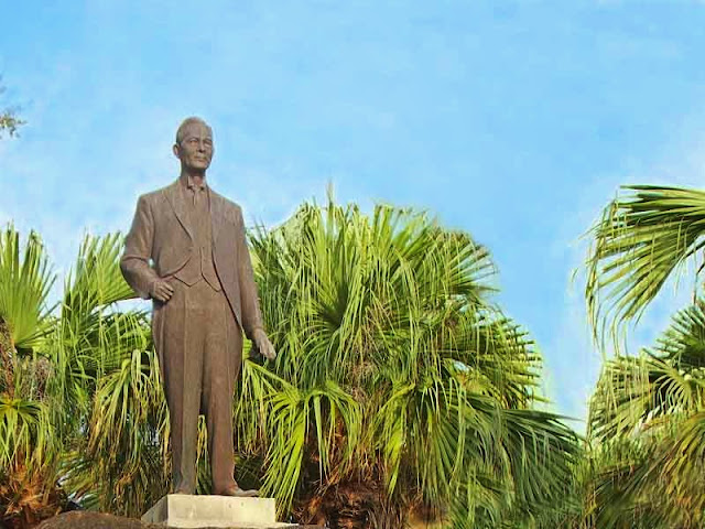 Seiho Ginoza, Seiho Matsuoka, statue