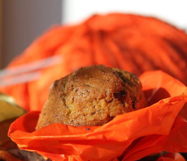muffin al  cioccolato fondente, zenzero fresco e tanti auguri