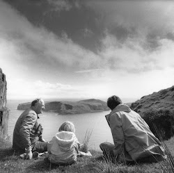 Nigel,Tom and Adam on the Shiant Island, Garbh Eilean