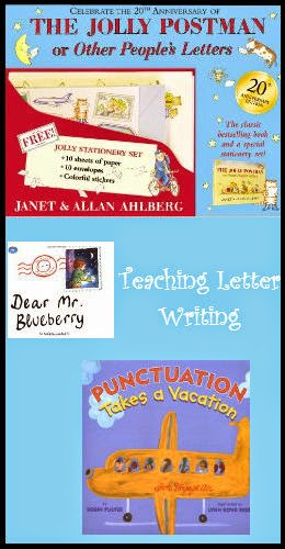 Writing letters in 2nd adventures in literacy land the jolly postman or other peoples letters is a sweet story of a postman who delivers mail to some very familiar storybook characters spiritdancerdesigns Images