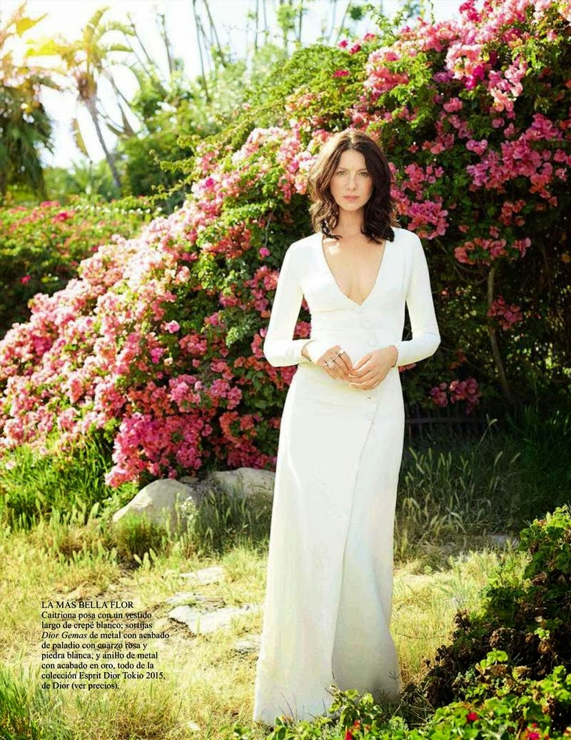 Fashion Model, Actress @ Caitriona Balfe - Vogue Spain, May 2015