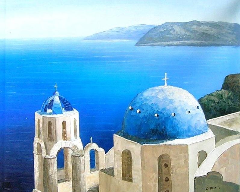 L 39 arte accessibile arredare con i dipinti a olio for Paesaggi marini dipinti